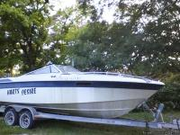 1986 26ft Well Craft paired with an 86Merc 350, on an