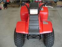 This is a 1986 Yamaha Badger 80 ATV. Newer original