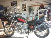 I have a Beautiful 1986 1100 Yamaha Virago Motorcycle