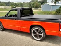 this is a 1986 chevy s10 short bed 355 engine 350 turbo