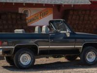 1985 GMC Jimmy converted into the full convertible