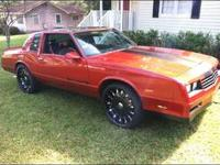 "86 Monte Carlo SS ( with T- Tops ) & 22"" wheels and"