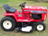 I AM SELLING MY MTD LAWN TRACTOR BECAUSE I GOT A LAWN
