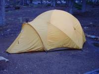 This is a fun tent.  It was donated by North Face to