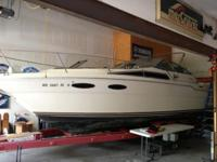 1986 Searay 300 Sundancer. This is a more mature