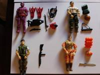 Below is a list of 1987-1990 GI Joes for sale. These