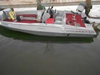 Have a 20 foot Bass and Bay boat with a 185HP Jonnson