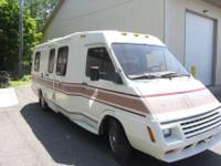Stock Number: 713614. 1987 Winnebago Lesharo Motor Home