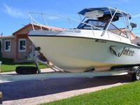 Type of RV: Power Boat Year: 1987 Make: Mako Model:
