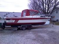 i am selling my 87 sport craft , it has 2, 165 io