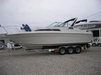 1987 27' Sea Ray Sun Dancer Super Clean & Well Kept