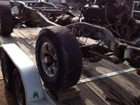 I have a rolling chassis w motor trans and transfer