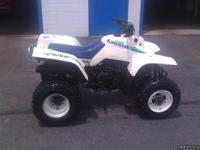 1987 Kawasaki Mojave 250 with reverse starts hard when