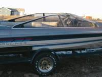 Description 1987 Bayliner 18ft Ski Boat. 125hp outboard