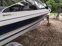 1987 Bayliner boat and trailer 18.5' 3.0 4 cylinder