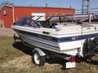 For Sale:. 1987 Bayliner Capri with a 2.3 L