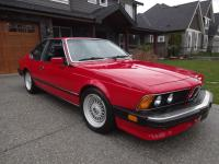 1987 BMW M6 E24. This is a two owner car that has been