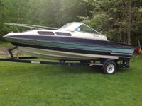 For sale 1987 vip viscount 165 mercuiser ski boat. New