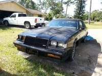 1987 Buick Grand National Great interior Engine needs