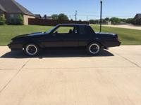 1987 Buick GNX #112 with 9500 original miles. Like new
