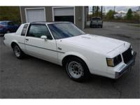 A very attractive 1987 Buick Regal T-Type with only