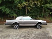 I have a1987 buick regal limited lowrider runs good