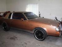 We have a 87 Buick Regal. Limited Edition Coupe.