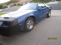 For Sale is a 1987 Camaro Iroc-Z, in running condition