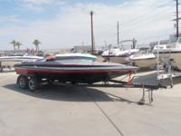 "1987 Carrera Elite 20' 5"" Jet boat - This is a very"