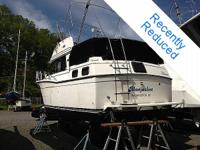 A really popular boat, the Carver Aft Cabin has a