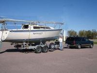 1987 Catalina 272 Boat is located in