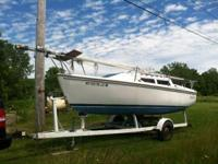 1987 Catalina Wing Keel Boat is located in Chautauqua