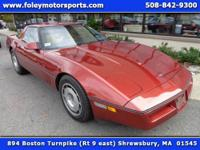 1987 Chevy Corvette Coupe finsihed in Copper on Beige