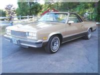 1987 Chevy El Camino Conquista Adult owned with 80k