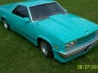1987 Chevrolet El Camino Am American classic currently