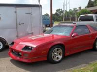 Gorgeous 1987 Chevrolet Iroc Z Camaro that is