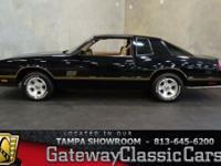 Stock #547-TPA 1987 Chevrolet Monte Carlo  $37,995