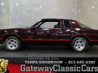 Stock #600-TPA 1987 Chevrolet Monte Carlo SS Areo