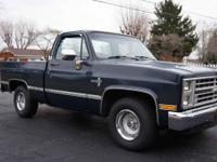 1987 Chevrolet Silverado Short-bed Actual miles 29,800: