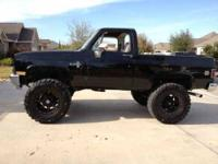 1987 Chevrolet V10 Blazer K5 Pick Up Beautiful custom