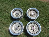 These wheels are off of a 1987 Chevy Silverado 1/2 ton