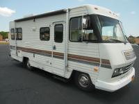 IT IS A 1987 WINNEBAGO ITASCA SUNFLYER CLASS A WITH