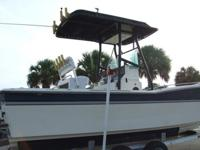 For sale a 23' fiberglass inboard CORRECT CRAFT 1987