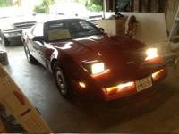 1987 Corvette Coupe. Richard. . I am pleased to provide