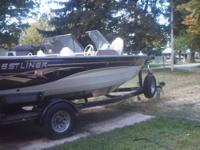 1987 Crestliner 21? Boat with Cuddy Cabin, 260 HP