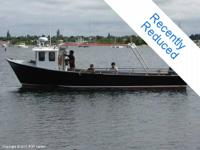 This is an excellent industrial fishing boat with