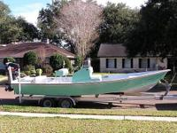 1987 Custom Flats Tunnel Please call boat owner Bob at