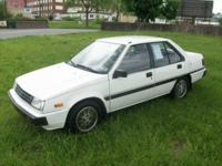 1987 dodge colt 4cyl auto cold air 86,000 miles great