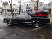 1987 El Camino Looks Good, Runs Good! P/Brakes P/W