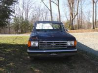 I have a 87 ford f-150 xlt lariat with clean title for
